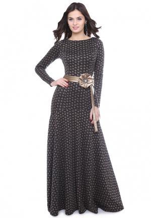 Платье Olivegrey ELFA. Цвет: черный