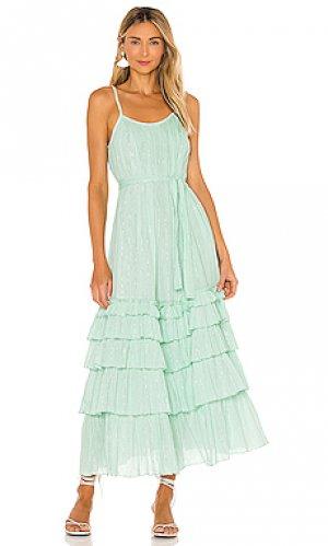 Макси платье lea Sundress. Цвет: мята