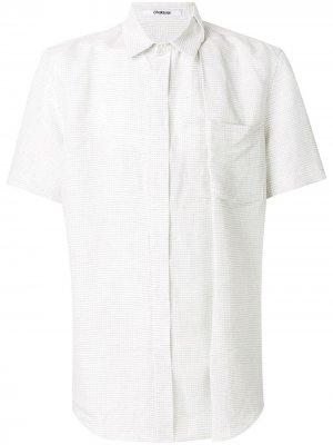 Рубашка свободного кроя Chalayan. Цвет: белый