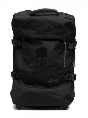 Дорожная сумка с принтом Eastpak. Цвет: черный