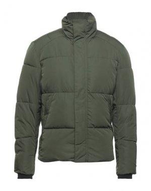 Куртка SELECTED HOMME. Цвет: зеленый-милитари