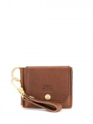Маленький кошелек с откидным клапаном As2ov. Цвет: коричневый