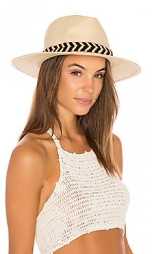 Шляпа cartagena ale by alessandra. Цвет: nude