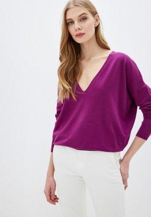 Пуловер By Swan. Цвет: фиолетовый