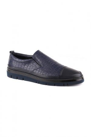 Туфли мужские GF Butteri. Цвет: тёмно-синий