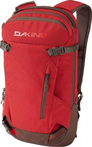 Рюкзак женский MISSION PRO 18L DARK OLIVE/CARAMEL Dakine. Цвет: красный