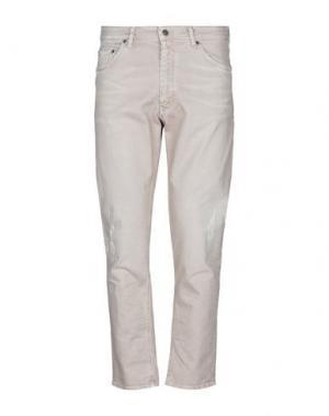 Джинсовые брюки DRYKORN. Цвет: бежевый