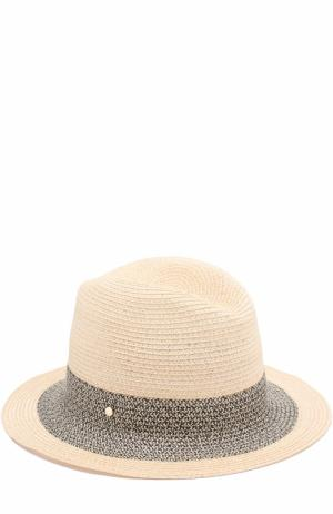 Шляпа с повязкой Inverni. Цвет: бежевый