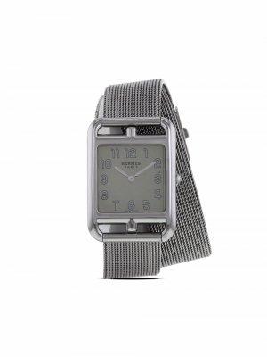 Наручные часы Cape Cod pre-owned 23 мм 2010-х годов Hermès. Цвет: серебристый