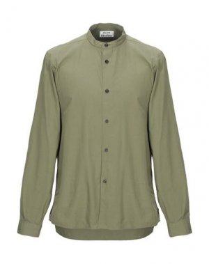Pубашка ACNE STUDIOS. Цвет: зеленый-милитари