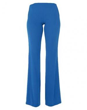 Повседневные брюки GAI MATTIOLO. Цвет: синий