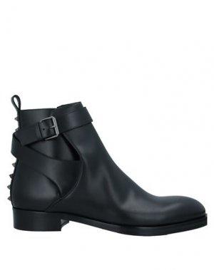 Полусапоги и высокие ботинки VALENTINO GARAVANI. Цвет: черный
