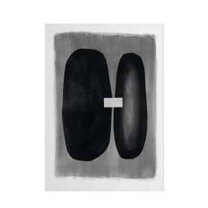 Постер LaRedoute. Цвет: черный