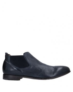 Полусапоги и высокие ботинки ALBERTO FASCIANI. Цвет: темно-синий
