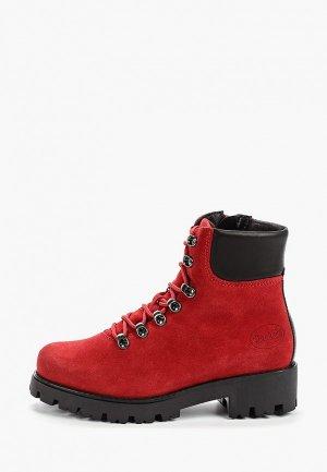 Ботинки Dockers by Gerli. Цвет: красный