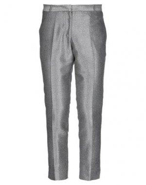 Повседневные брюки BELLFIELD. Цвет: серый
