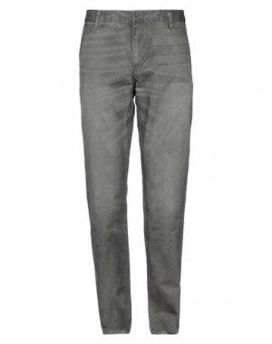 Джинсовые брюки DOCKERS. Цвет: зеленый-милитари