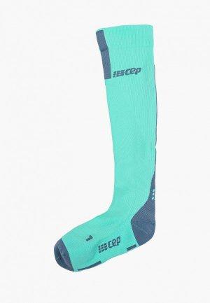 Компрессионные гольфы CEP Compression Knee Socks C123. Цвет: бирюзовый