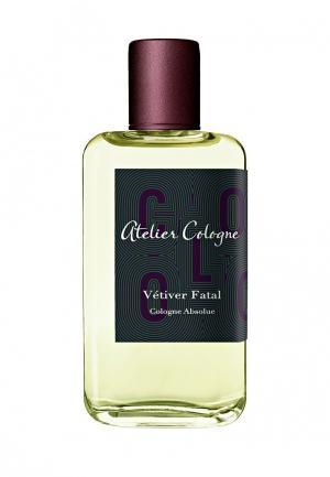 Парфюмерная вода Atelier Cologne VETIVER FATAL Absolue 100 мл. Цвет: прозрачный