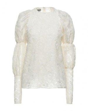 Блузка GIAMBATTISTA VALLI. Цвет: слоновая кость