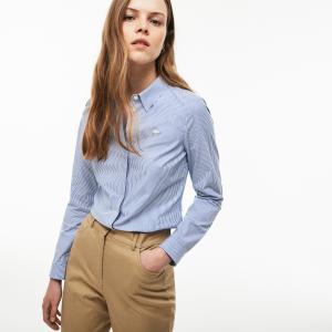 Рубашка Lacoste. Цвет: голубой