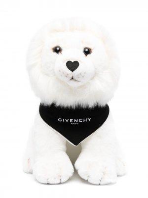 Плюшевая игрушка лев Givenchy Kids. Цвет: белый