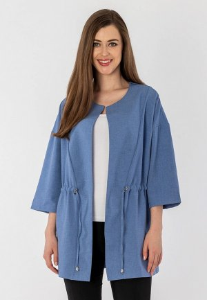 Жакет S&A Style. Цвет: синий