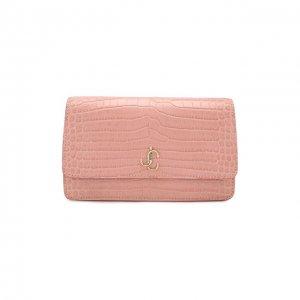 Поясная сумка Varenne Jimmy Choo. Цвет: розовый