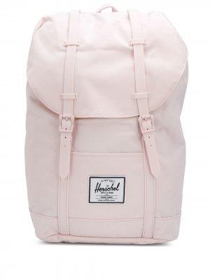 Рюкзак с кулиской и пряжками Herschel Supply Co.. Цвет: розовый