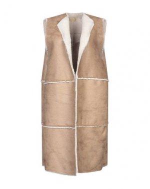 Легкое пальто BONSUI. Цвет: верблюжий