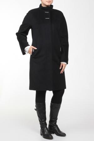 Пальто Exclusive. Цвет: синий