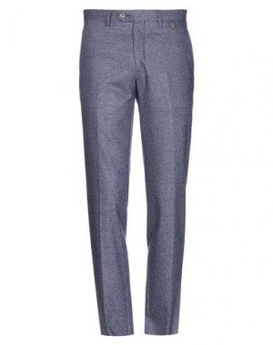 Повседневные брюки ANGELO NARDELLI. Цвет: грифельно-синий