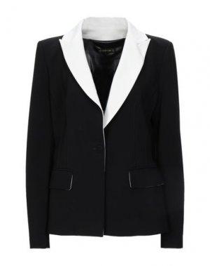 Пиджак PLEIN SUD. Цвет: черный