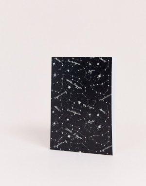 Блокнот с созвездиями -Мульти Coconut Lane