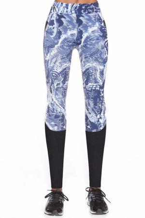 Leggings BAS BLEU. Цвет: multicolor