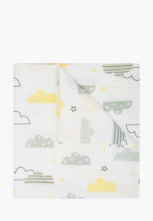 Пеленка Сонный Гномик Облака 73х100