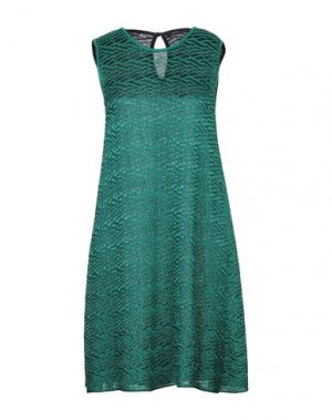 Короткое платье ANTONINO VALENTI. Цвет: изумрудно-зеленый
