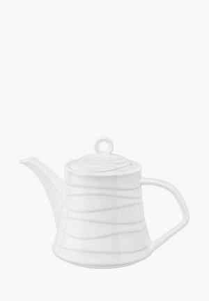 Чайник заварочный Elan Gallery 1, 1 л. Цвет: белый