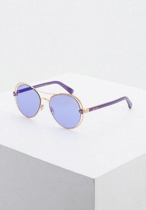 Очки солнцезащитные Jimmy Choo SARAH/S S9E. Цвет: золотой