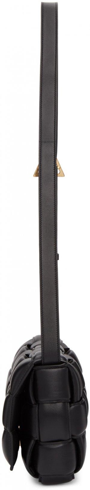 Black Small Padded Cassette Bag Bottega Veneta. Цвет: 8425 black