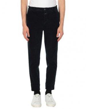 Повседневные брюки CLOSET. Цвет: темно-синий