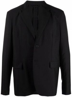 Однобортный пиджак Acne Studios. Цвет: черный