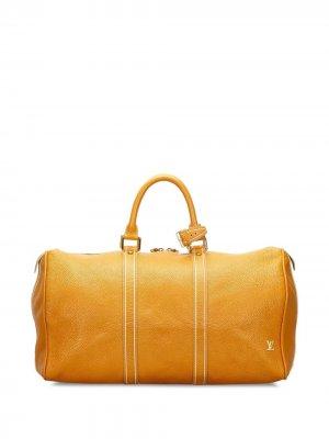 Дорожная сумка Speedy 2012-го года Louis Vuitton. Цвет: оранжевый