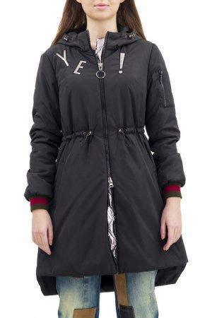 Куртка-бомбер Pavel Yerokin. Цвет: черный