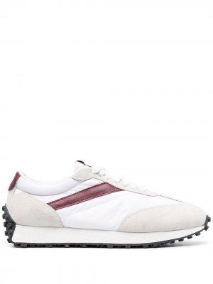 Doucals кроссовки со вставками Doucal's. Цвет: белый