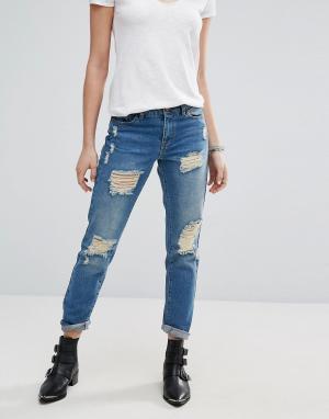 Рваные джинсы бойфренда JDY