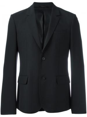 Пиджак с карманами клапанами Carven. Цвет: чёрный