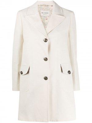 Однобортный пиджак Etro. Цвет: нейтральные цвета
