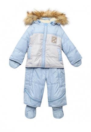 Комбинезон утепленный Little boy. Цвет: голубой