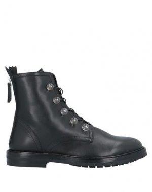 Полусапоги и высокие ботинки AGL ATTILIO GIUSTI LEOMBRUNI. Цвет: стальной серый